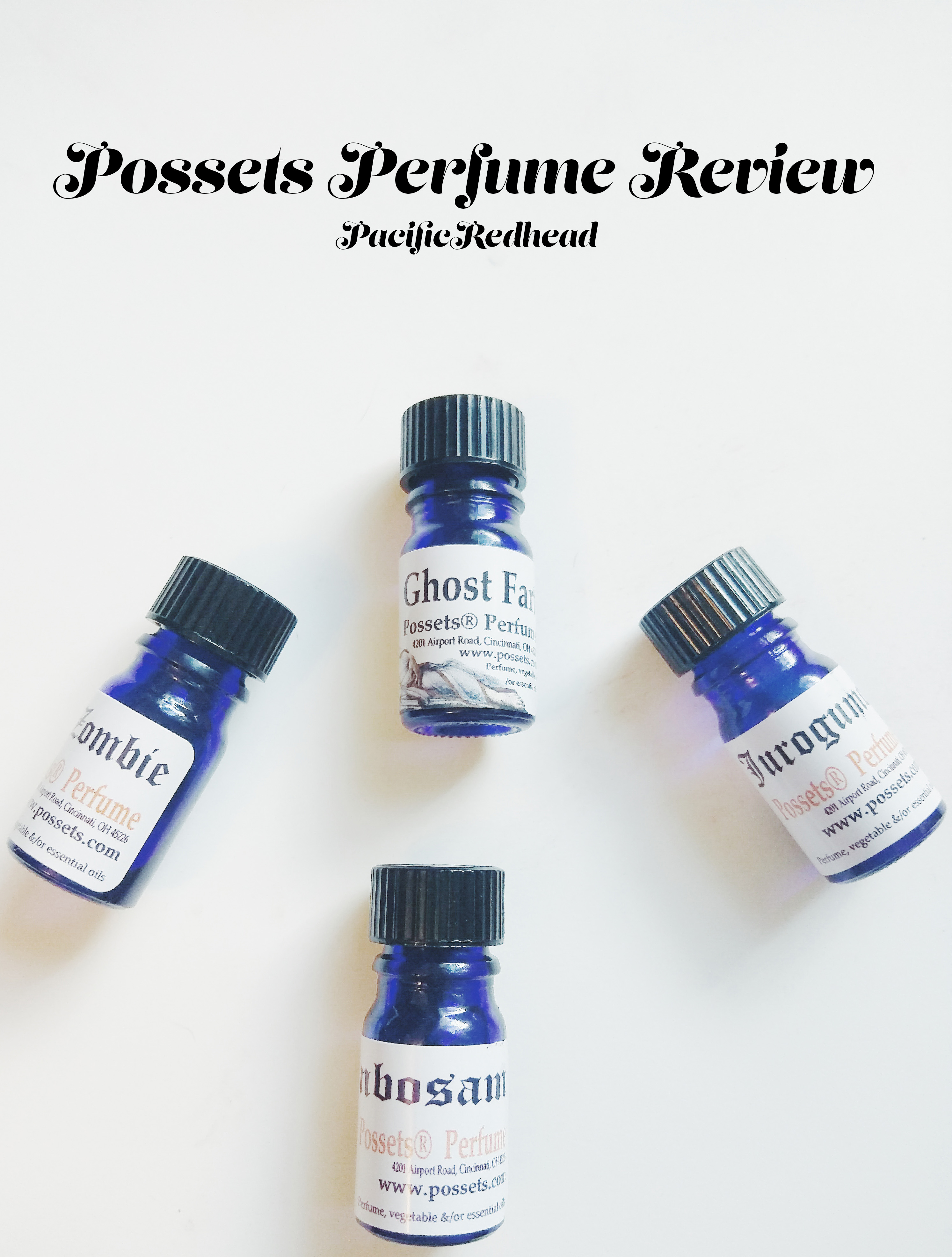 Possets Perfume Halloween 2015 Review – 4 Scents
