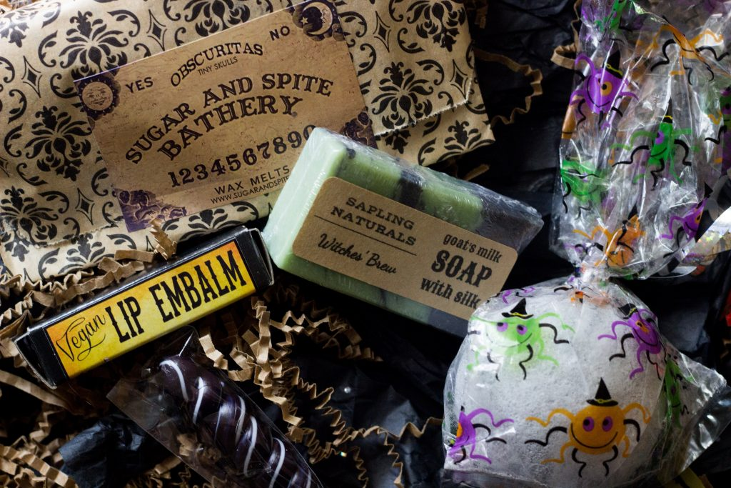 October Sudsy Box Toil and Trouble